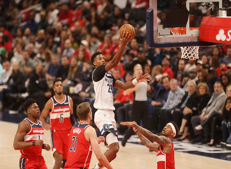 Wizards Can't Run With the Timberwolves, Fall 131-109