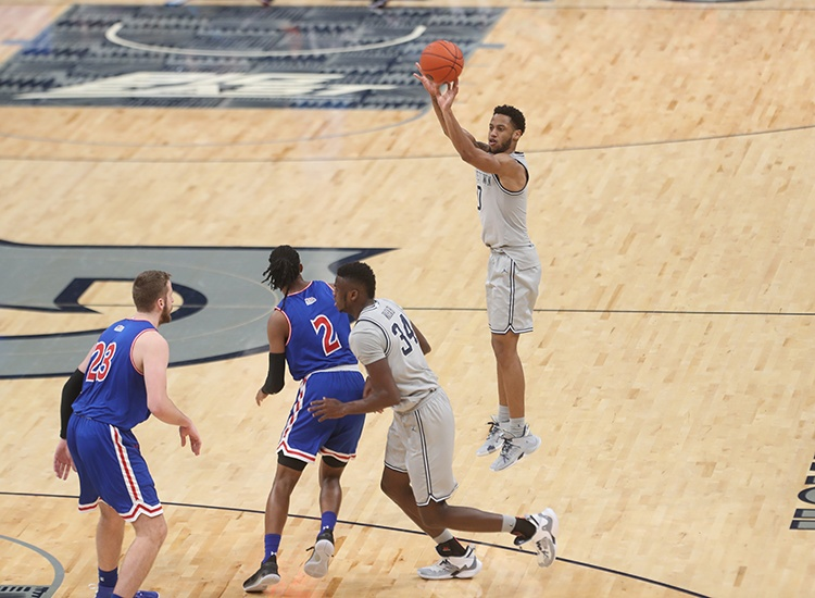 Hoyas Wrap Up Non Conference Schedule With 80-60 Victory Over American