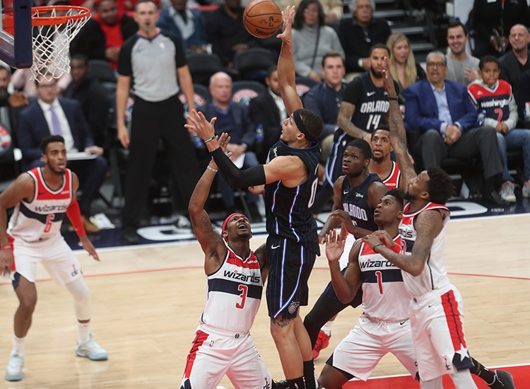 Not a Magical Night for the Wizards. Orlando Hands Them Another Loss, 127-120