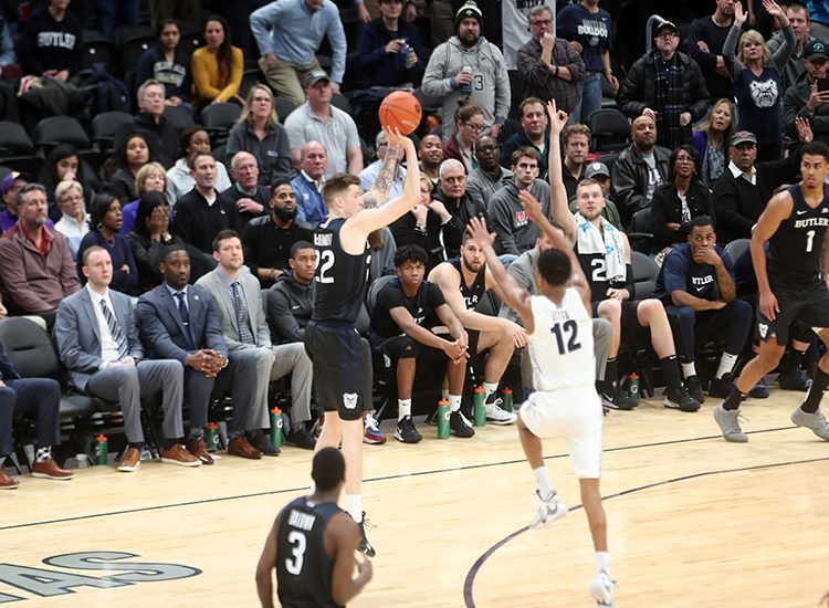 Hoyas Fall Short in Final Minutes. Drop to 2-6 in Conference Play with 69-64 Loss to Butler