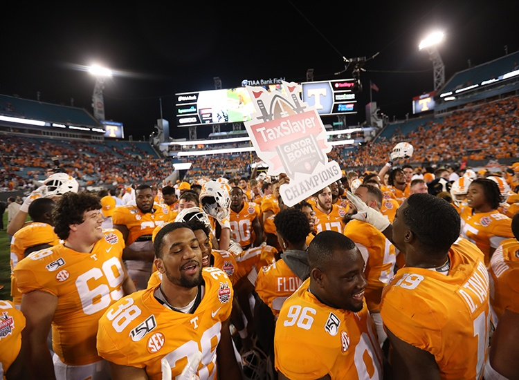 Tennessee Onside Kicks Their Way to Gator Bowl Title, 23-22