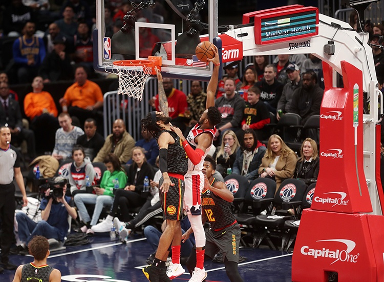 Wizards Soar Over the Hawks, 111-101 Behind Another McCrae Scoring Gem