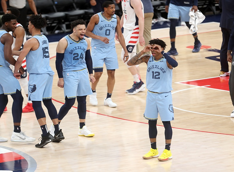 Ja Morant Steals the Show and the Game for the Grizzles Over the Wizards, 106-99