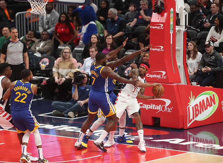 Wizards Battle With the Warriors, Fall Short 125-117