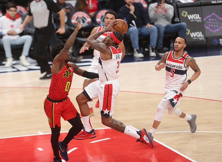 Wizards Get Much Needed Victory at Home Over Hawks, 118-112